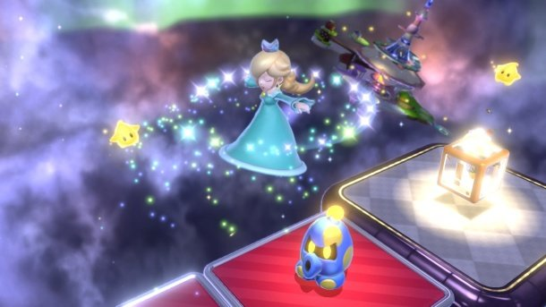 Super Mario 3D World stars Rosalina