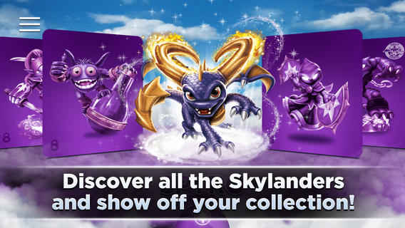 Skylanders app lets you track your collection