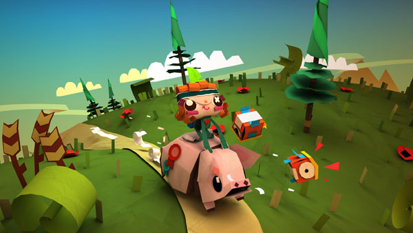 Tearaway demo unfolds on PS Vita
