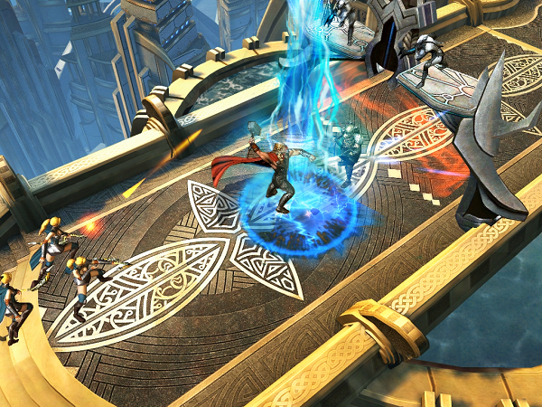 Thor: The Dark World game crashes onto tablets and phones