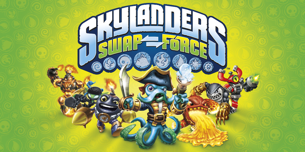 Win Skylanders SWAP Force characters and Starter Pack