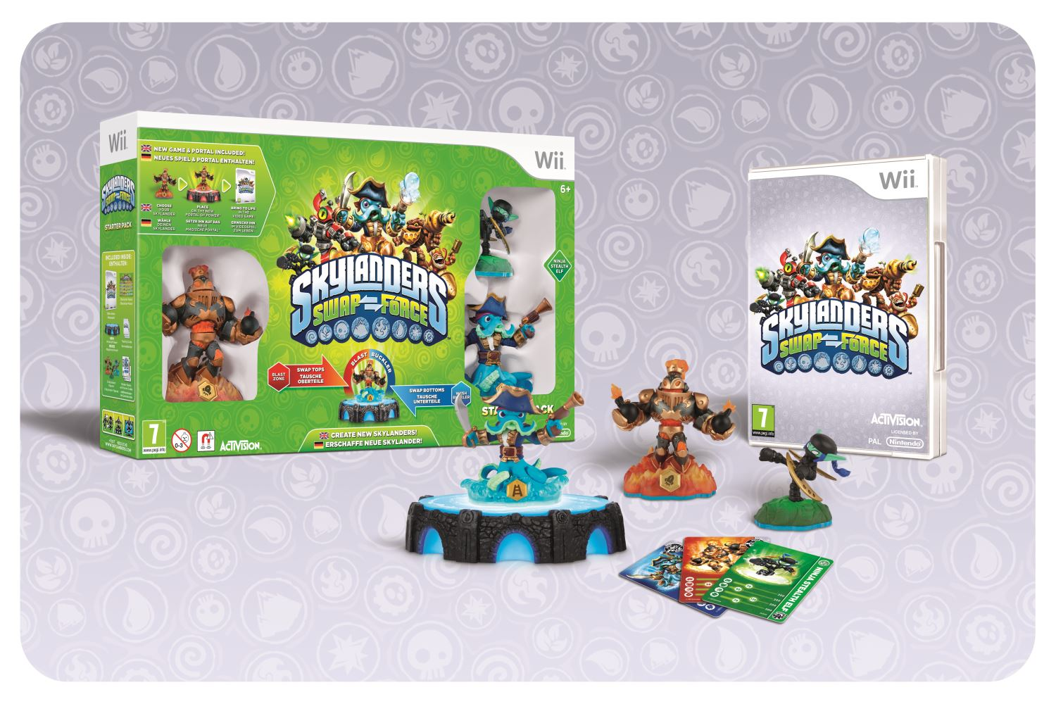 Win a Skylanders SWAP Force Starter Pack and more!