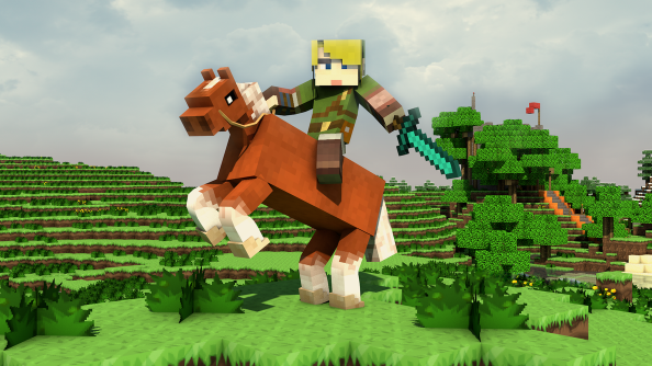Play The Legend of Zelda in Minecraft!