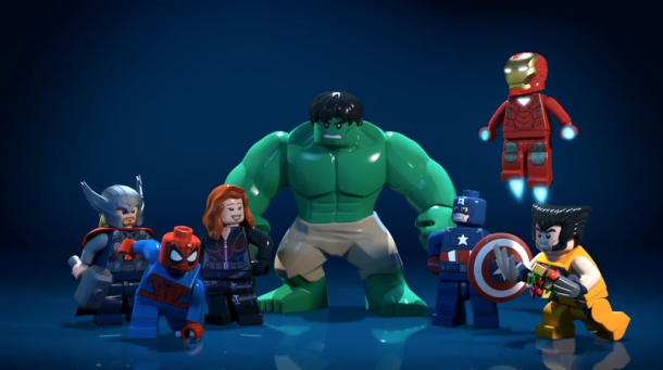LEGO Marvel Super Heroes series swings into action