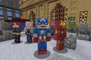 Avengers Minecraft 01