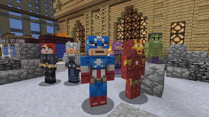 The Avengers are coming to Minecraft Xbox 360