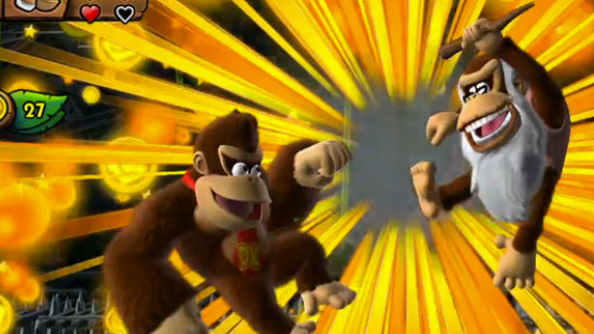 Cranky Kong is the fourth Donkey Kong character