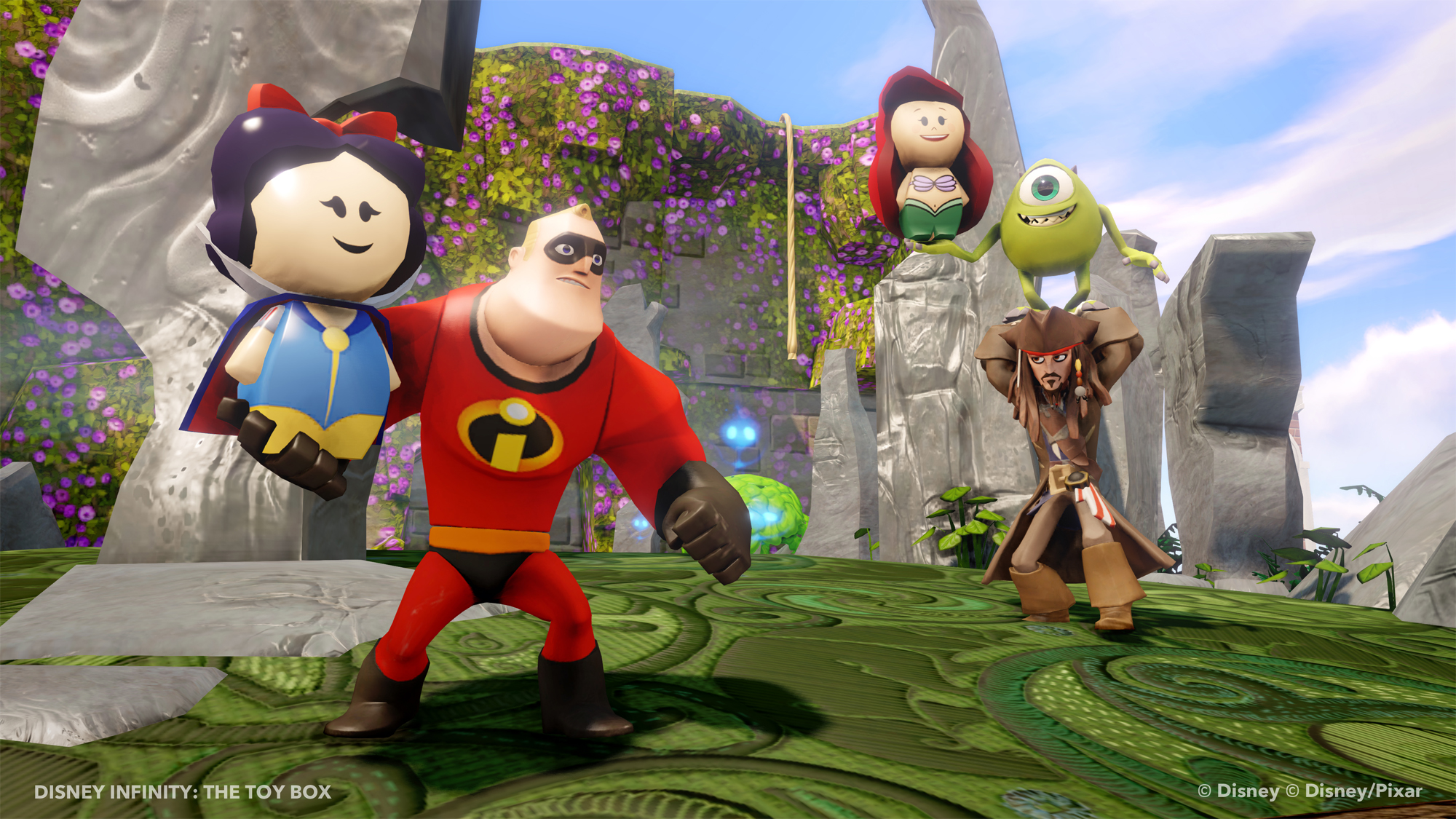 Learn how to use Disney Infinity Toy Box