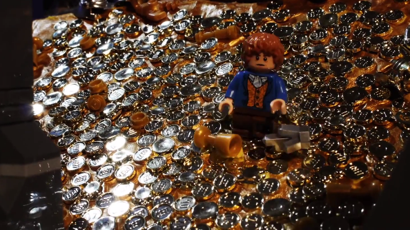 Trailer for The Hobbit made of LEGO!
