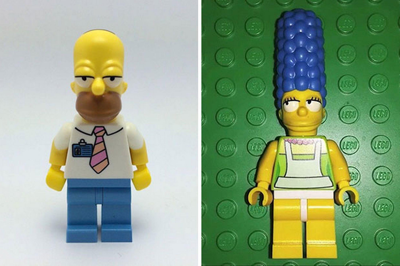 LEGO Simpsons minifigs revealed?
