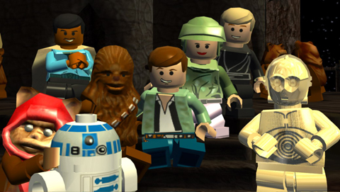 LEGO Star Wars The Complete Saga now on iOS!