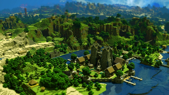 Minecraft will be released on PS3, PS4 and Xbox One