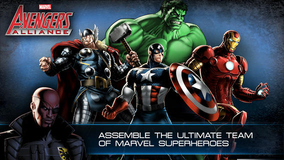 iOS App of the Day: Avengers Alliance