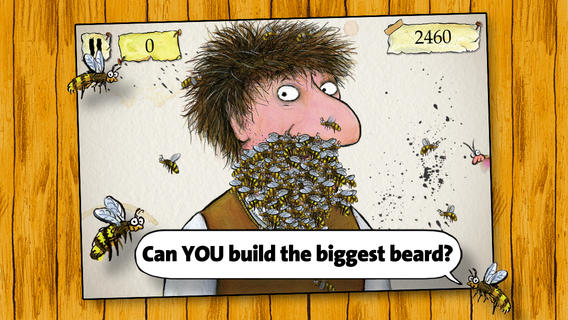 iOS App of the Day: Beard of Bees