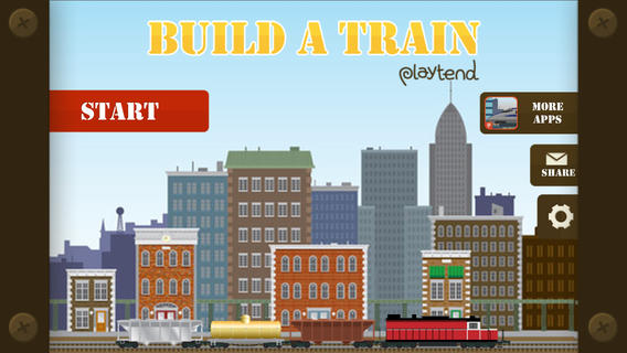 iOS App of the Day: Build A Train
