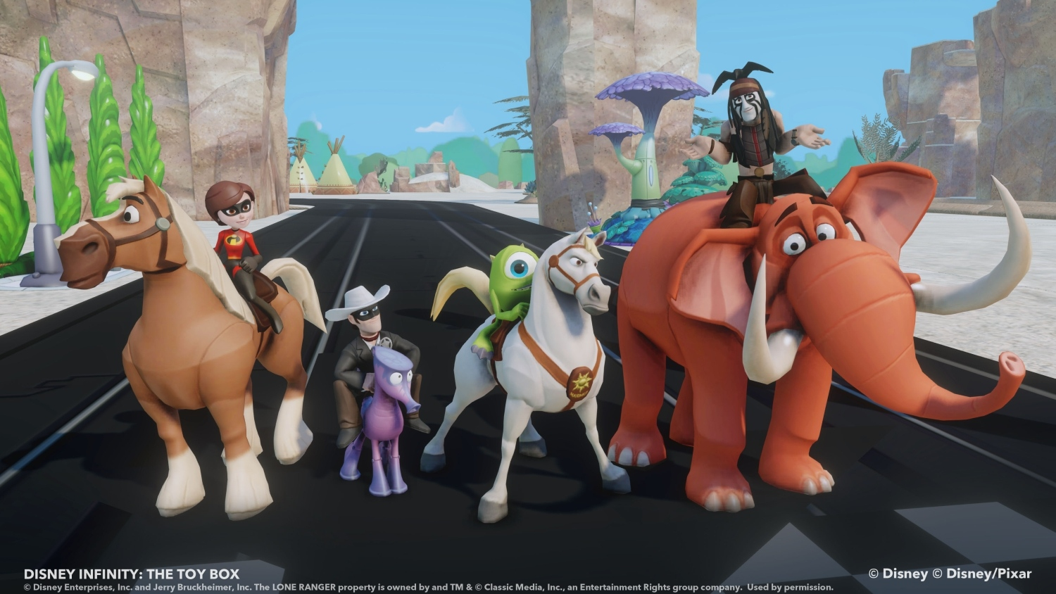 Learn how to use Disney Infinity's Toy Box part 3