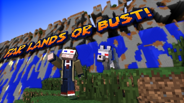 Go to the very end of the Minecraft world with Far Lands or Bust