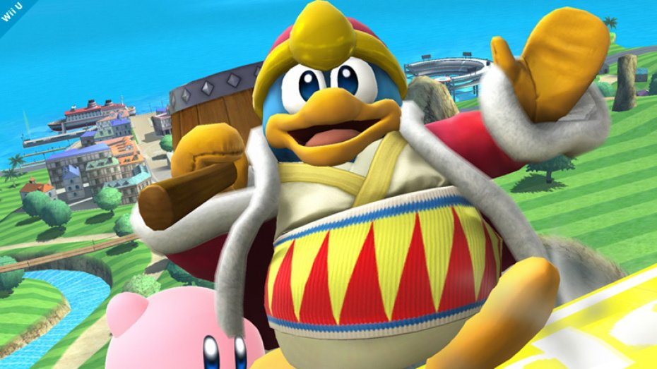 King Dedede revealed for Super Smash Bros.