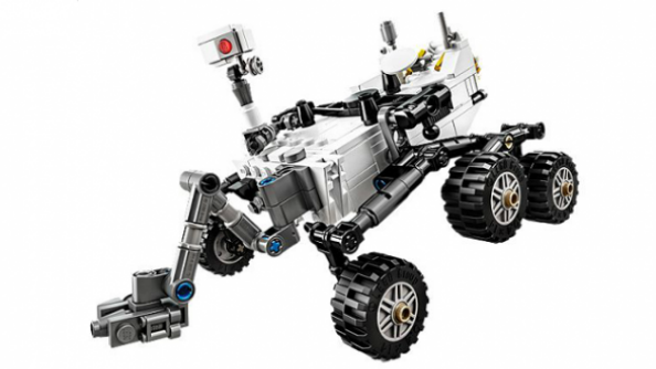 Check out the LEGO Curiosity Mars rover