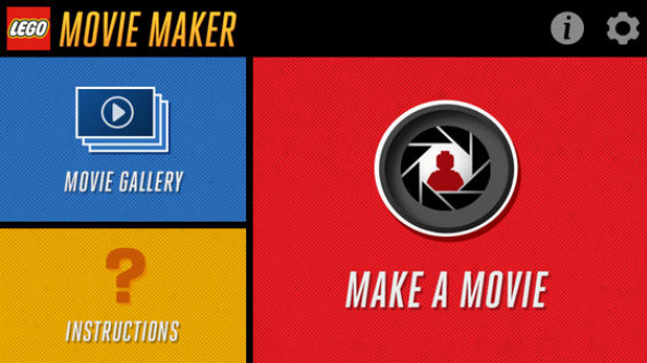 iOS App of the Day: LEGO Movie Maker