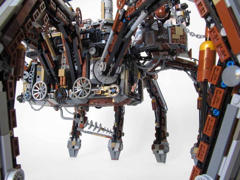 Lego Steampunk Train Lego Steampunk Spider 02