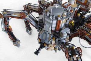 LEGO Steampunk spider 03