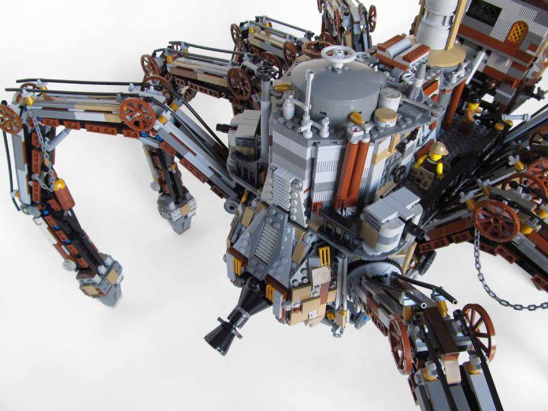 Lego Steampunk Train Lego Steampunk Spider 03