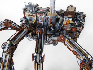 LEGO Steampunk spider 04