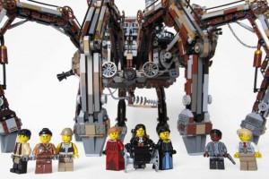LEGO Steampunk spider 05
