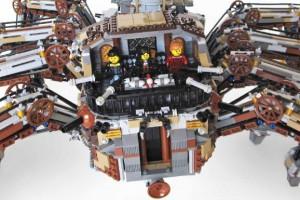 LEGO Steampunk spider
