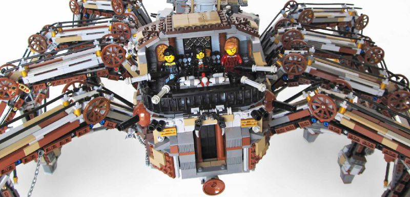 LEGO steampunk tarantula is incredible