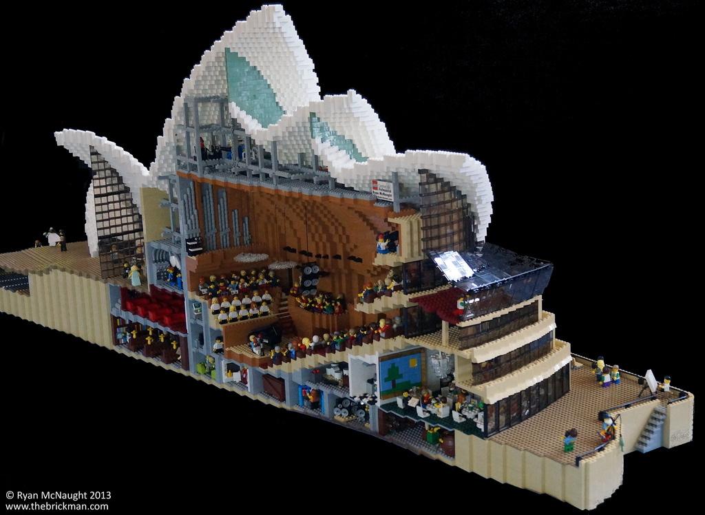 LEGO Sydney Opera House 05 BoxMash