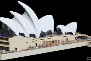 LEGO Sydney Opera House 07