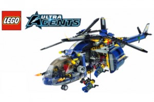 LEGO Ultra Agents title