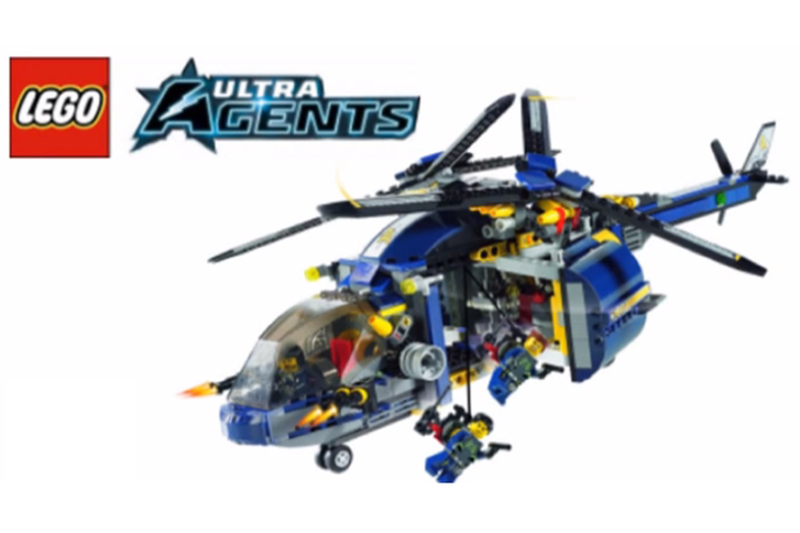 LEGO relaunches Ultra Agents