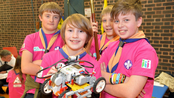 First LEGO League competition held in Birmingham