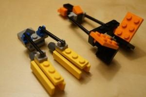 LEGO podracers
