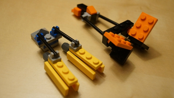 How to make a mini lego submarine