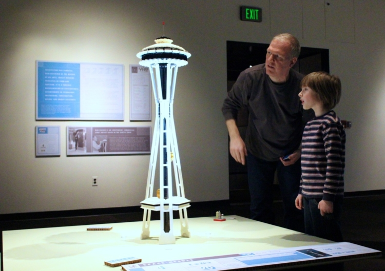 LEGO landmarks on show in Seattle