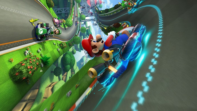 Mario Kart 8 race with pro commentary!