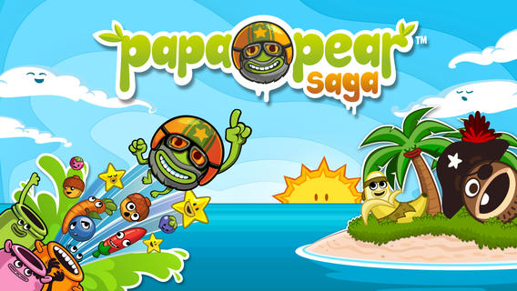 iOS App of the Day: Papa Pear Saga