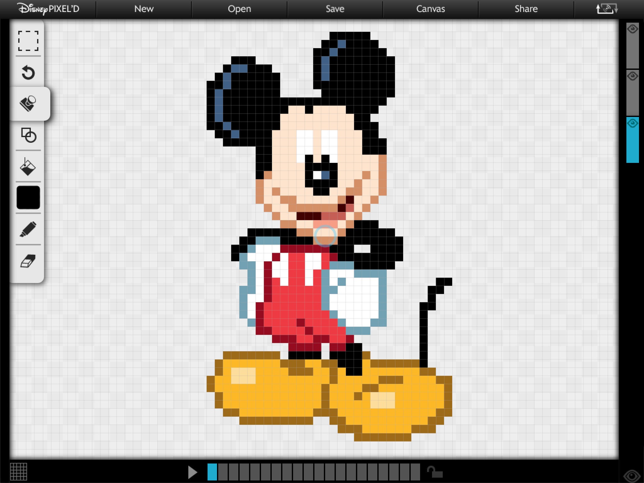 iOS App of the Day: Disney PIXEL'D