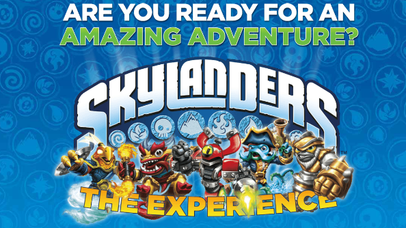 Become a Skylander this April!