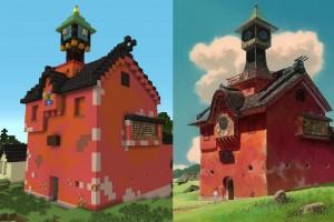 Spirited Away Minecraft 04