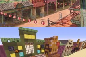 Spirited Away Minecraft 05