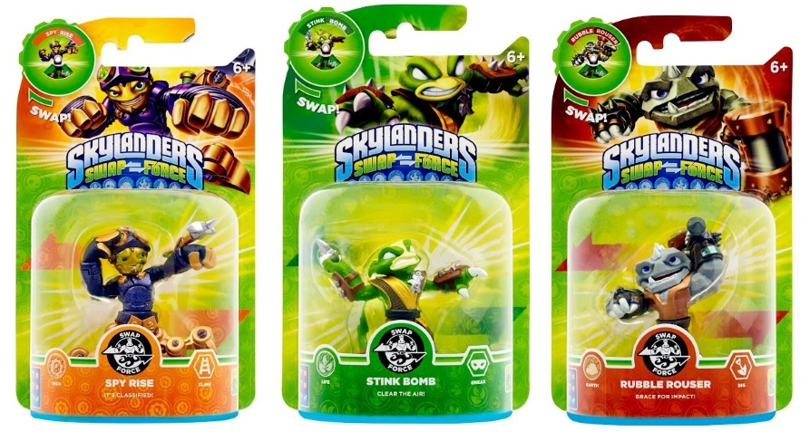 Skylanders Swap Force wave 3 approaches, plus Happy Meal toys
