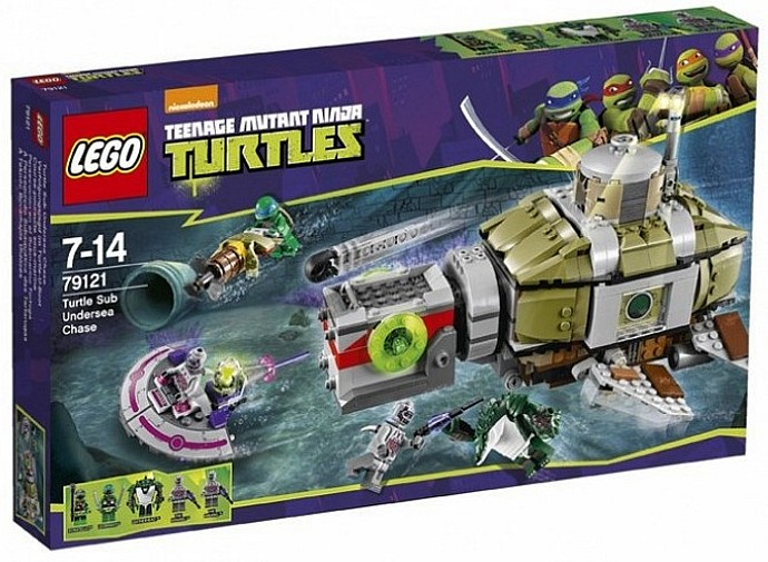New LEGO Teenage Mutant Ninja Turtles sets revealed!