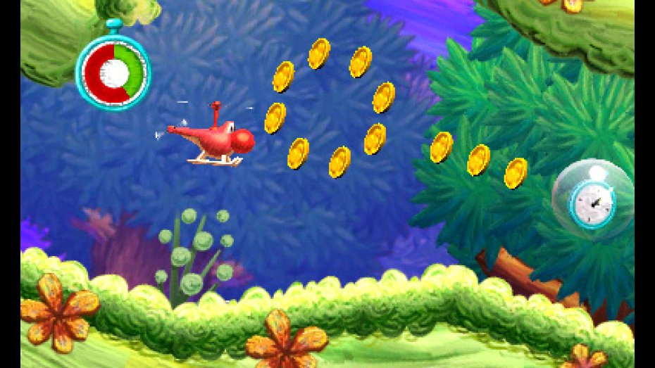 Yoshi's New Island trailer and screens full of chopper fun