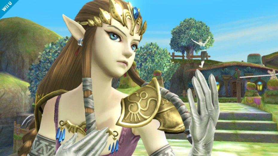 First pics of Princess Zelda in Super Smash Bros