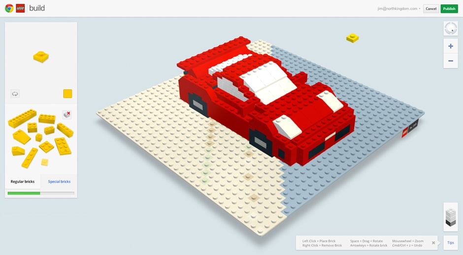 Lego build with chrome lets you create online boxmash for Build a building online